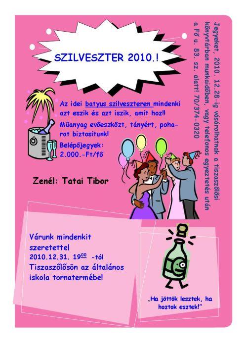 Szilveszter 2010.