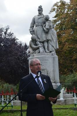 Az I. világháború tiszaszőlősi áldozataira emlékeztünk